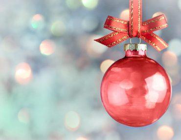 Riciclare il vetro a Natale
