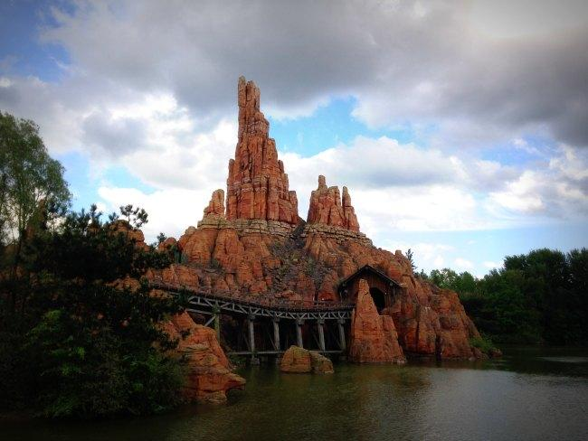 Disneyland Paris: Big Thunder Mountain