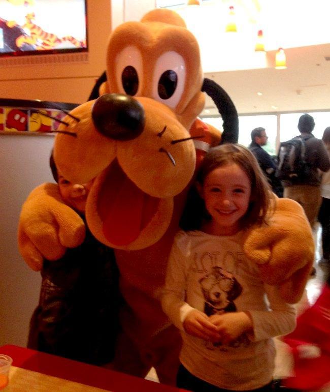 Disneyland Paris: cena con i personaggi Disney