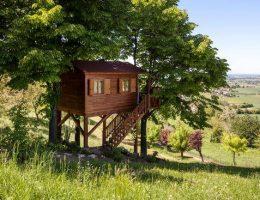 casa sull'albero in Monferrato