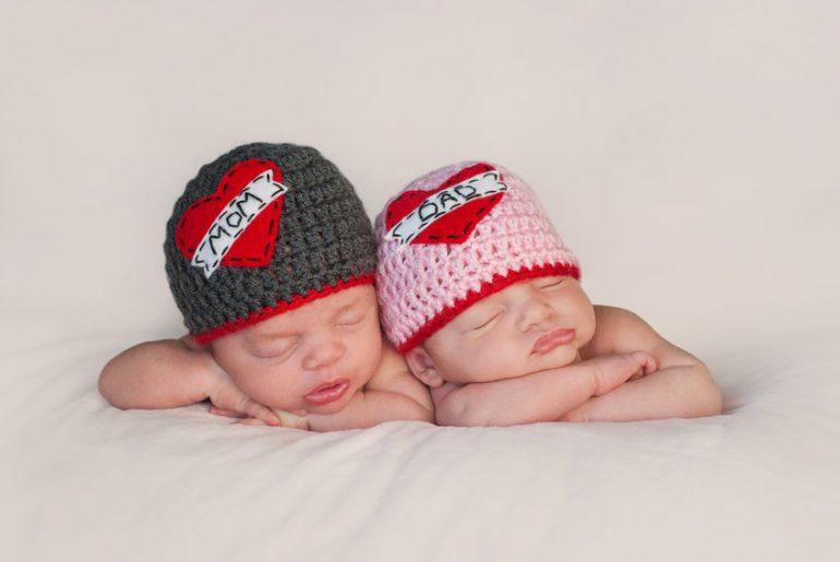riconoscere genitori di gemelli