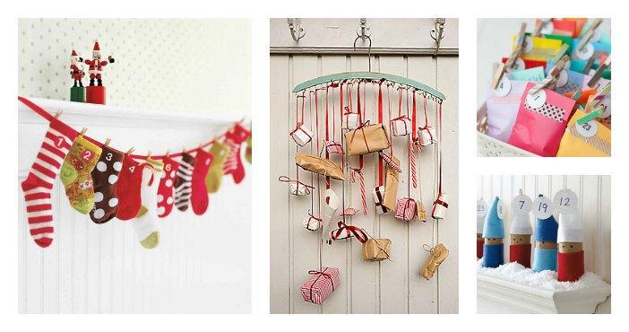 Idee Calendario.15 Idee Homemade Per Il Calendario Dell Avvento
