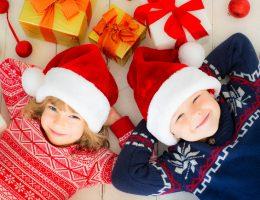 Il look di Natale dei bambini
