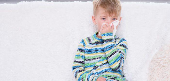come prevenire tosse e raffreddore nei bambini