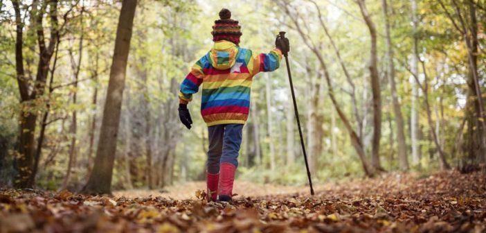 Trekking autunno con bambini