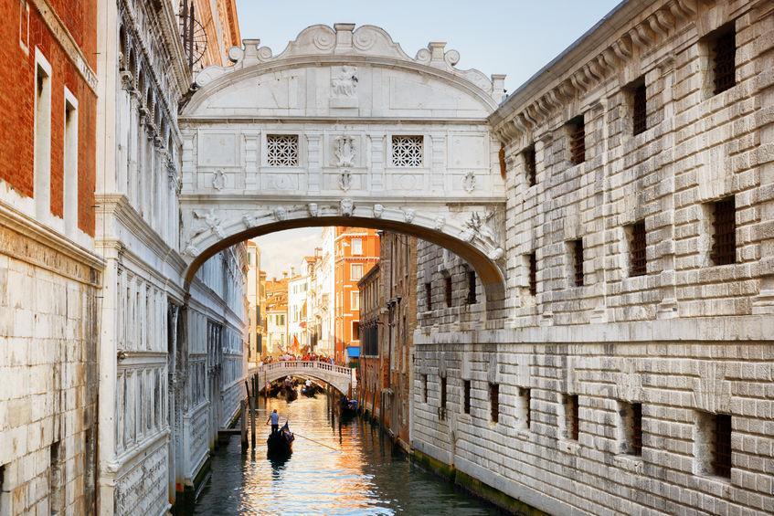venezia con bambini ponte sospiri