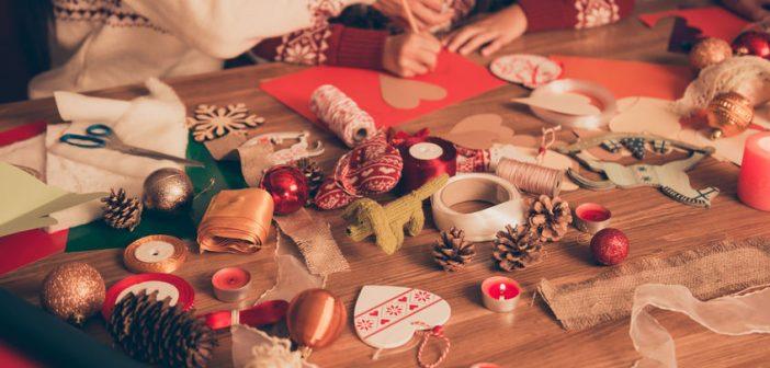 10 lavoretti per Natale da fare con i bambini