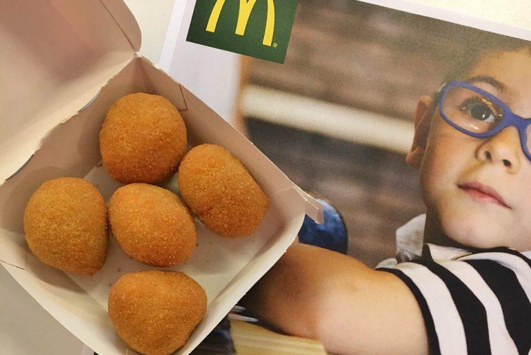 olive solidali campagna mcdonals