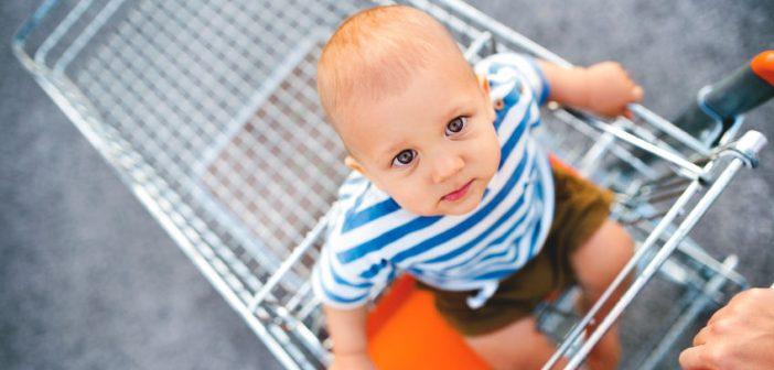 Come fare la spesa per lo svezzamento dei neonati