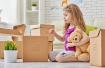 come affrontare un trasloco con bambini