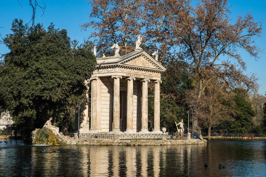 roma bambini parco villa borghese