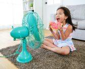 Bambini e aria condizionata: come regolarla?
