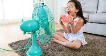 bambini aria condizionata