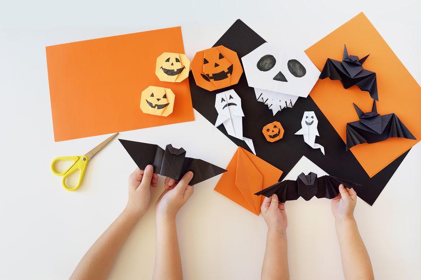 Disegni Di Halloween Facili.Lavoretti Halloween Per Bambini Le Idee Piu Belle E Facili Da Fare