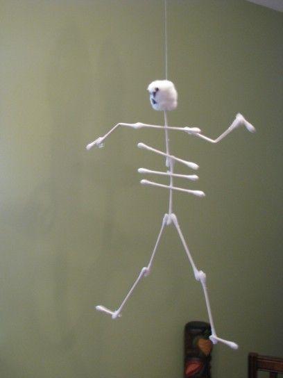 lavoretti halloween scheletrino