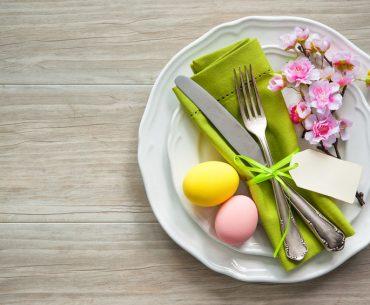 Idee per decorare la tavola di Pasqua