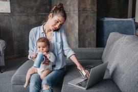 aiutare mamme a rientrare nel mondo del lavoro