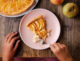 torta di mele ricetta con bambini