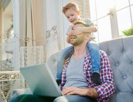 smart working lavoro a casa con figli consigli