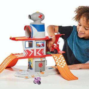 La casa di Ricky Zoom: il giocattolo. Abbiamo provato il playset della piccola moto da soccorso