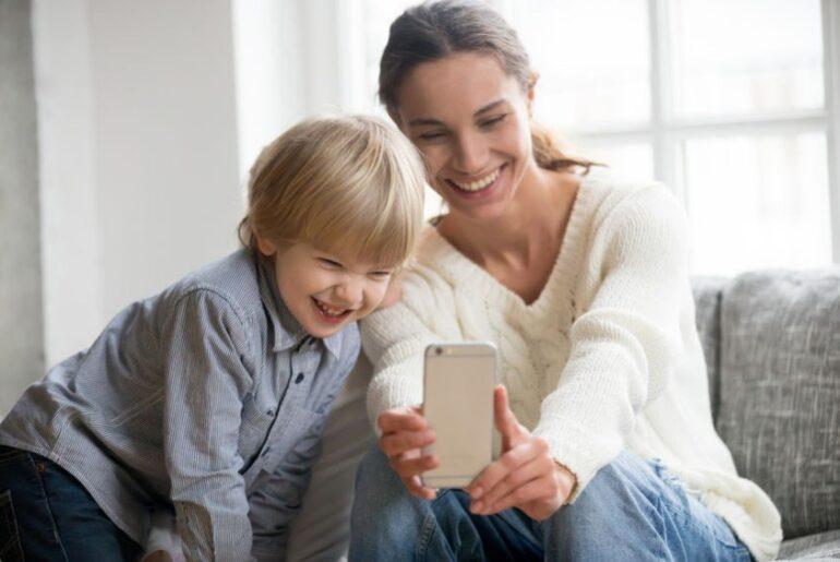 video mobile famiglia