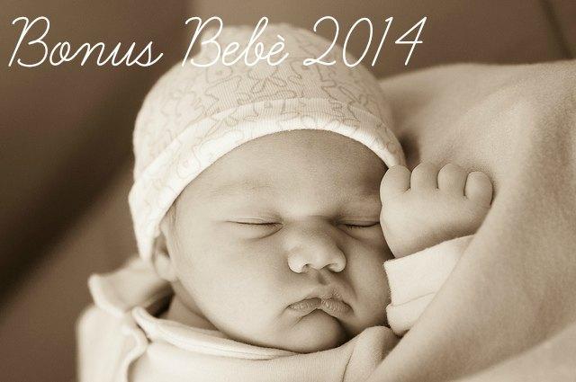bonus bebè 2014