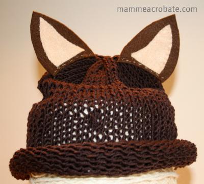 cappellino da volpe