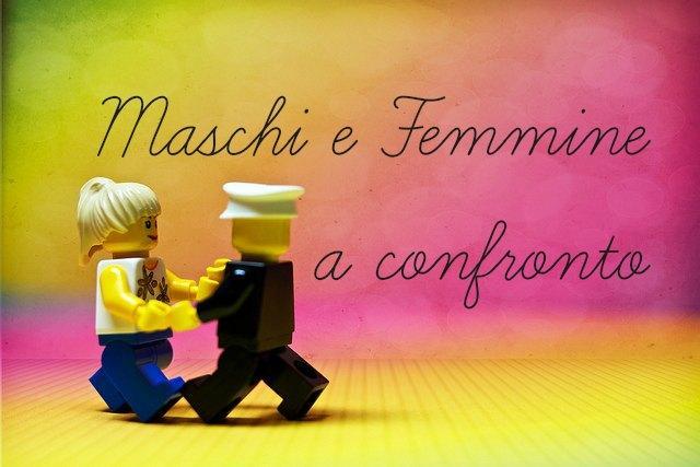 maschi e femmine a confronto