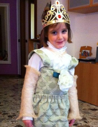 Costume Di Carnevale Fai Da Te Vestito Da Principessa Mammeacrobate
