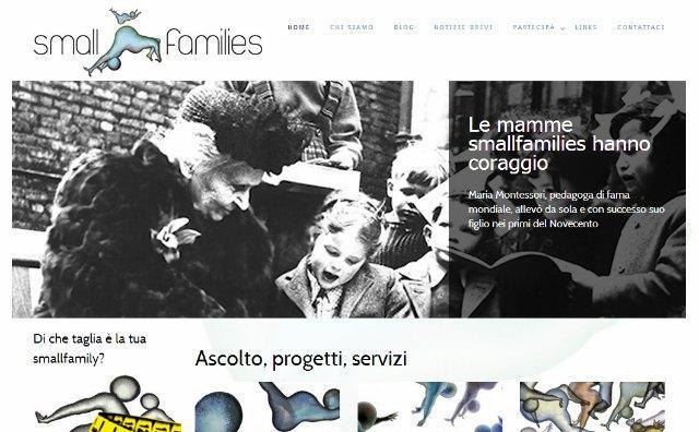 smallfamilies per famiglie monogenitoriali